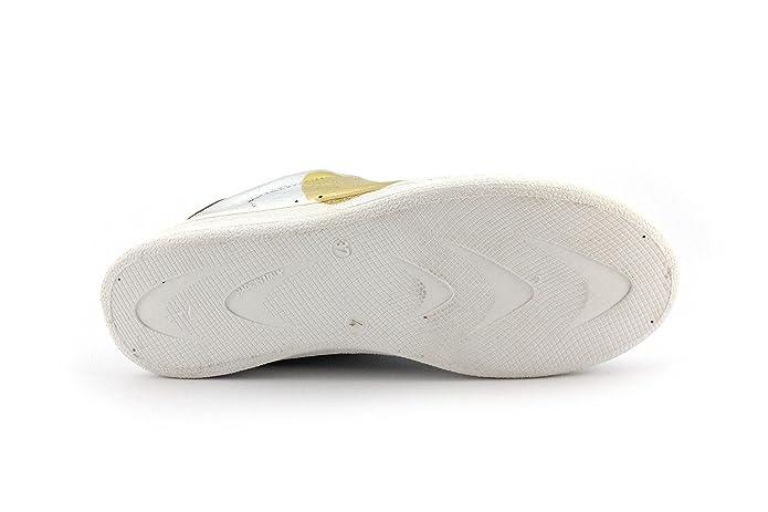 Nira Rubens Sneaker DACU39 Daiquiri Cuore Argento/Oro Misura-39  43 s1rIRaljXC