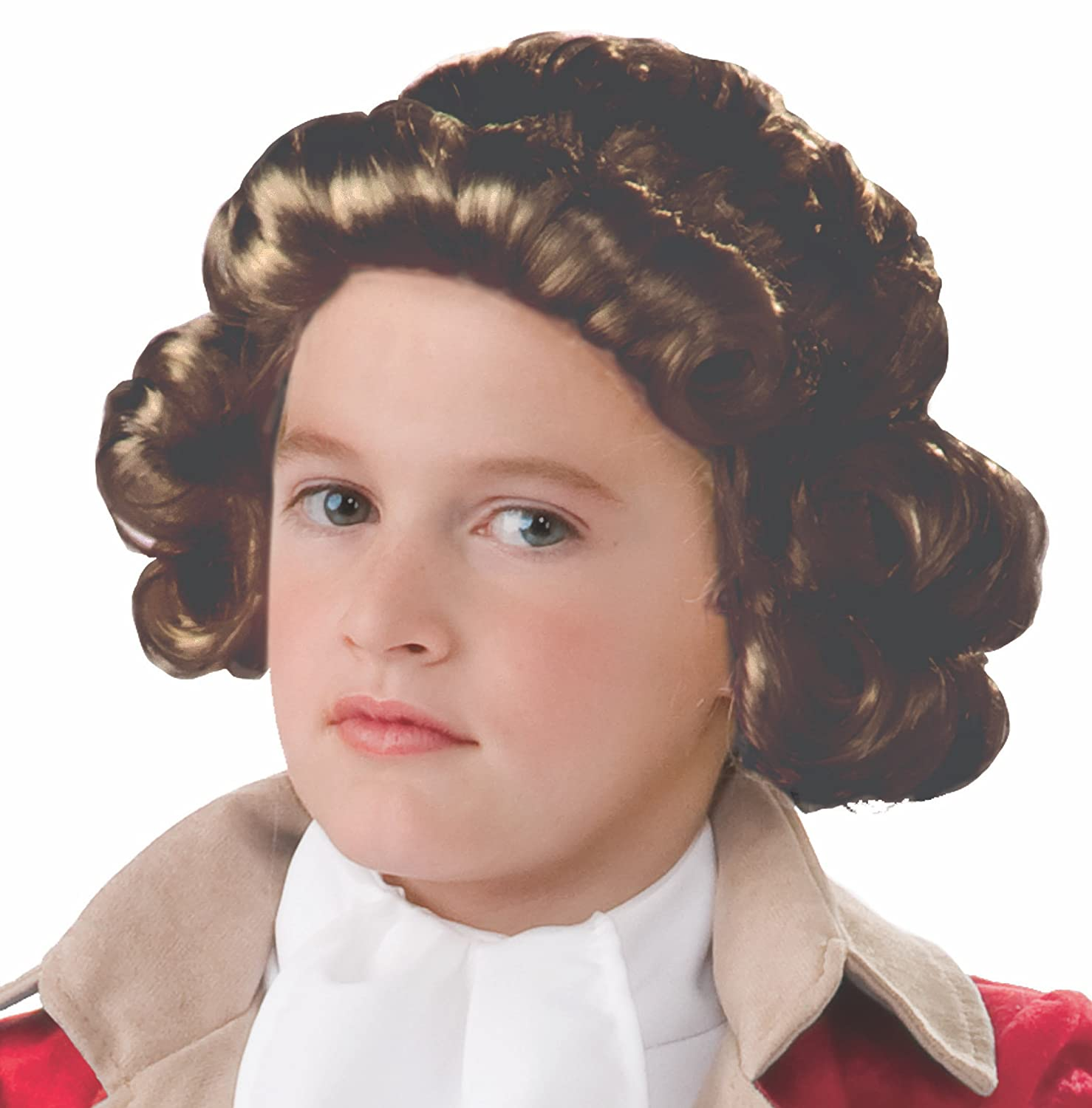 Forum Novelties Colonial Boy Child Wig Brown One Size 78940