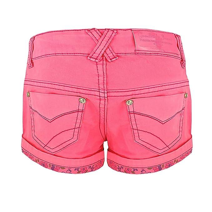 Trespass Catherine Girls Dark Denim Summer Shorts