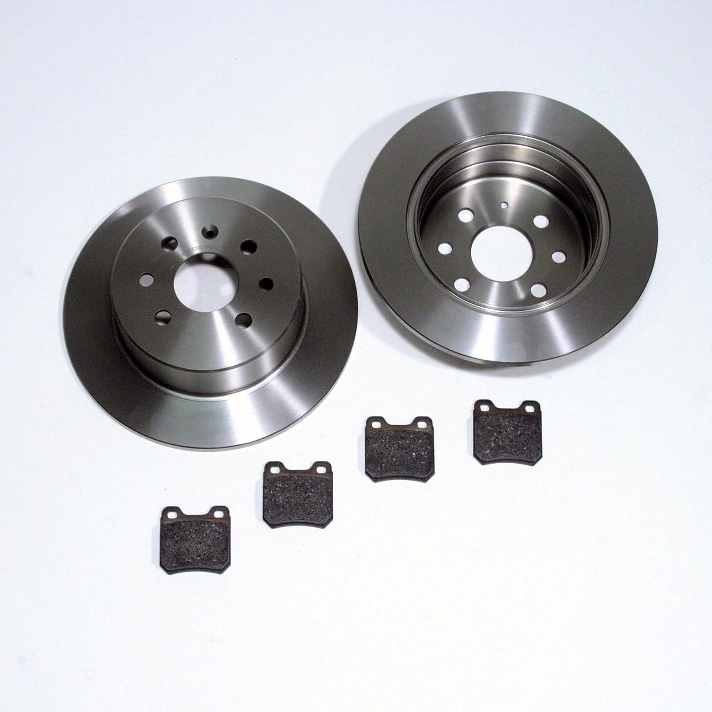 Bremsbel/äge f/ür hinten//f/ür die Hinterachse Bremsscheiben /Ø 295 mm//Bremsen