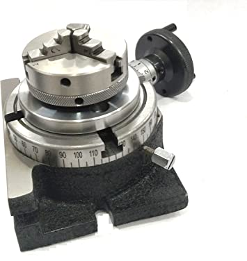 "Rotary Table 4/"" Inch//100 mm H.V 4slot For Milling Premium Quality"