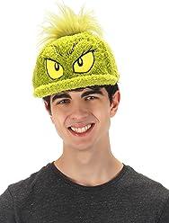 elope Dr. Seuss The Grinch Costume Fuzzy Cap