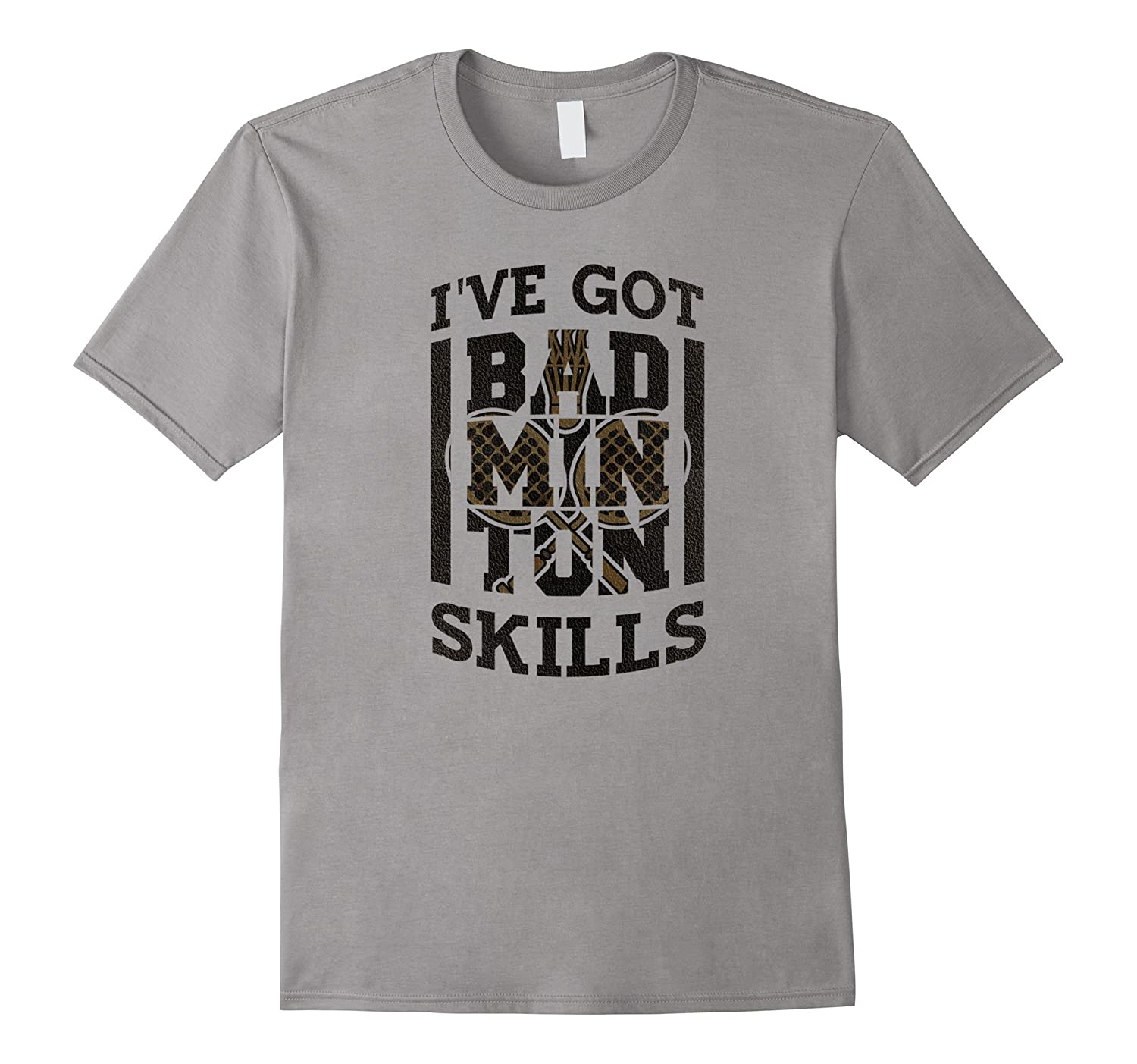 AdoraCache Funny Badminton Lover Game Player Gifts T-Shirt-FL