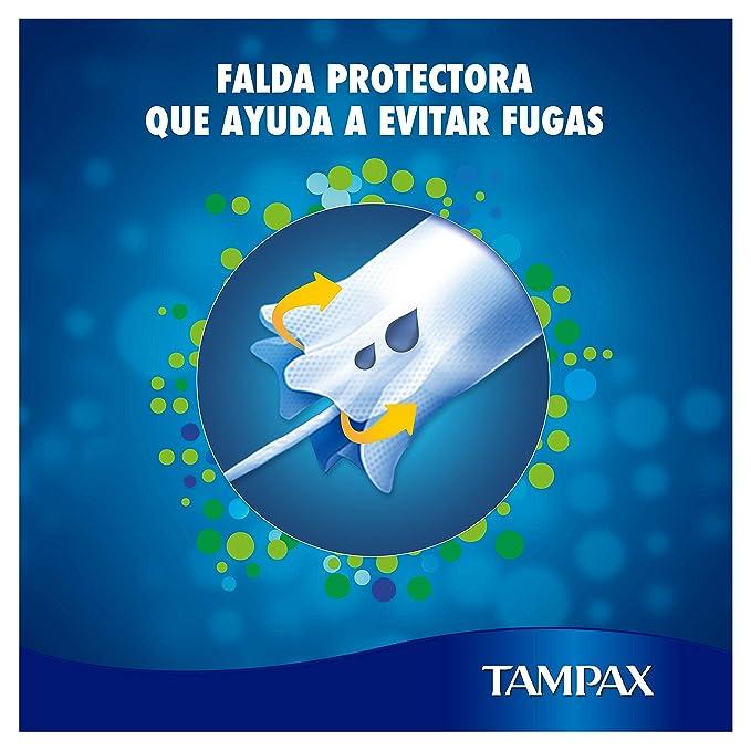 Tampax Super Tampones con Aplicador de Cartón, Protección Antifugas, Siéntate Limpia, 40 Unidades: Amazon.es: Amazon Pantry