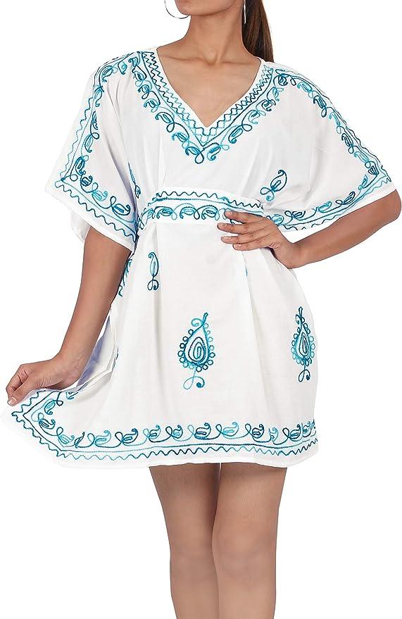 TALLA Talla única. LA LEELA Vestido de la Playa del Traje de baño de Las Mujeres Falda de Tubo Halter Maxi