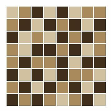 FoLIESEN Fliesenaufkleber Für Bad Und Küche   15x15 Cm   Mosaik Beige Braun    14
