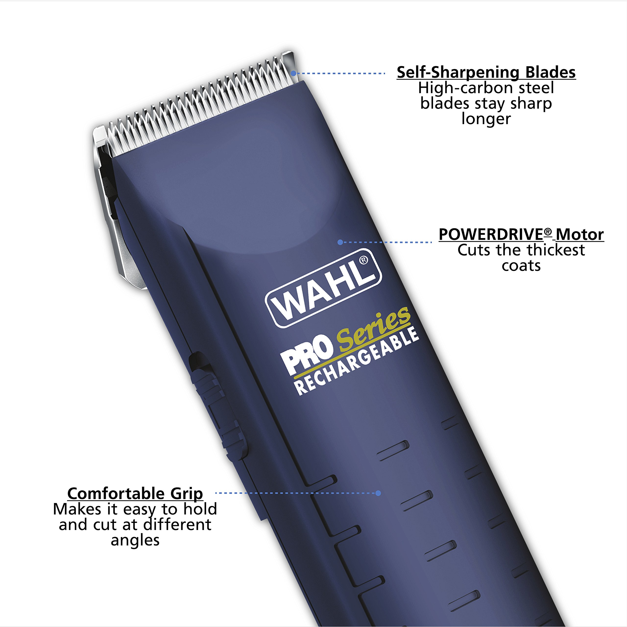 wahl pro series rechargeable clipper manual