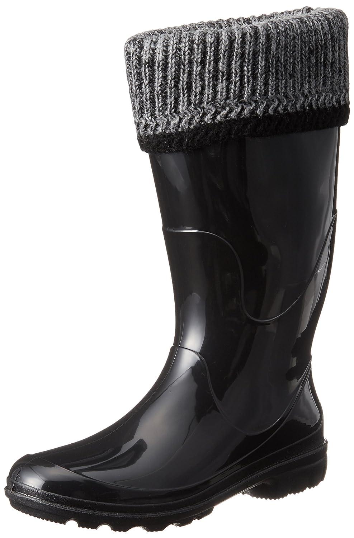 Kamik Women's Lancaster Insulated Rain Boot B00RW5BYJC 8 B(M) US|Black