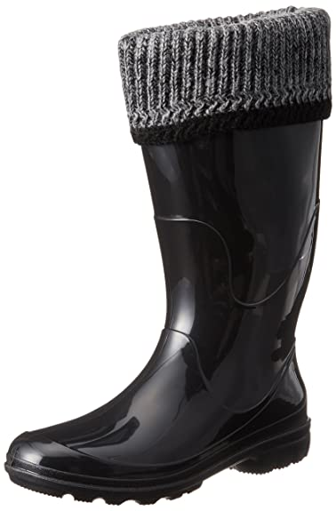 Amazon.com | Kamik Women's Lancaster Insulated Rain Boot | Mid-Calf