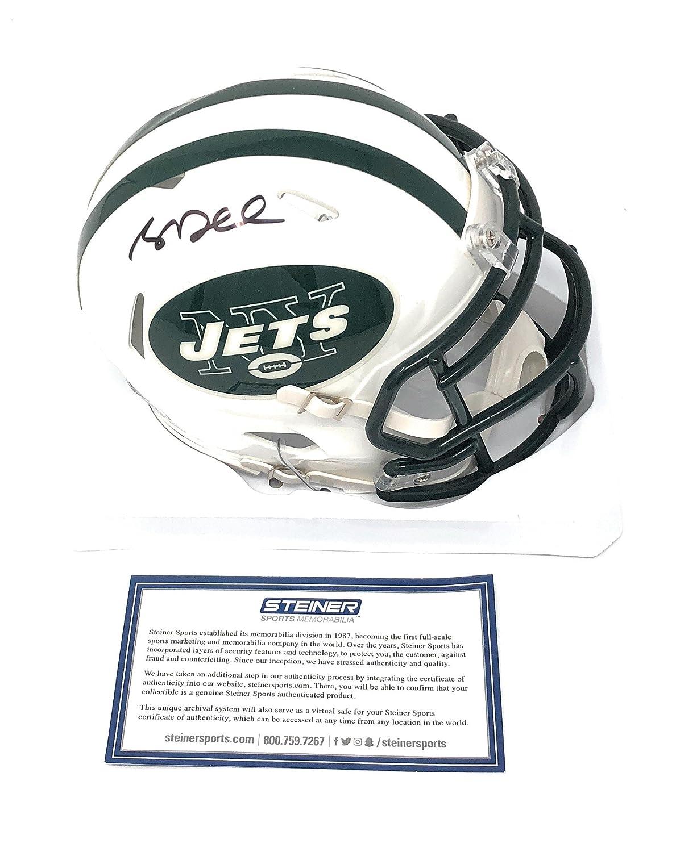 Sam Darnold New York Jets Signed Autograph Mini Helmet Steiner Sports Certified