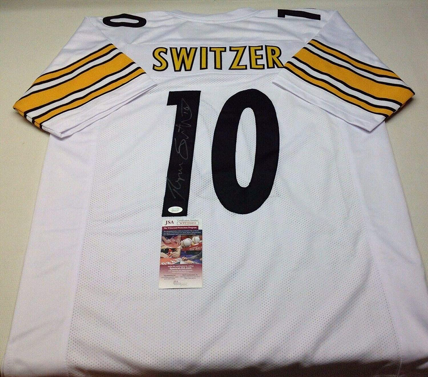 buy online d9695 eb372 Ryan Switzer Autographed Jersey - Pittsburgh Steelers Custom ...