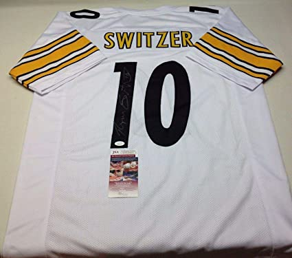 2528b5cc1c7 Image Unavailable. Image not available for. Color: Ryan Switzer Autographed  Jersey - Pittsburgh Steelers Custom White Coa!