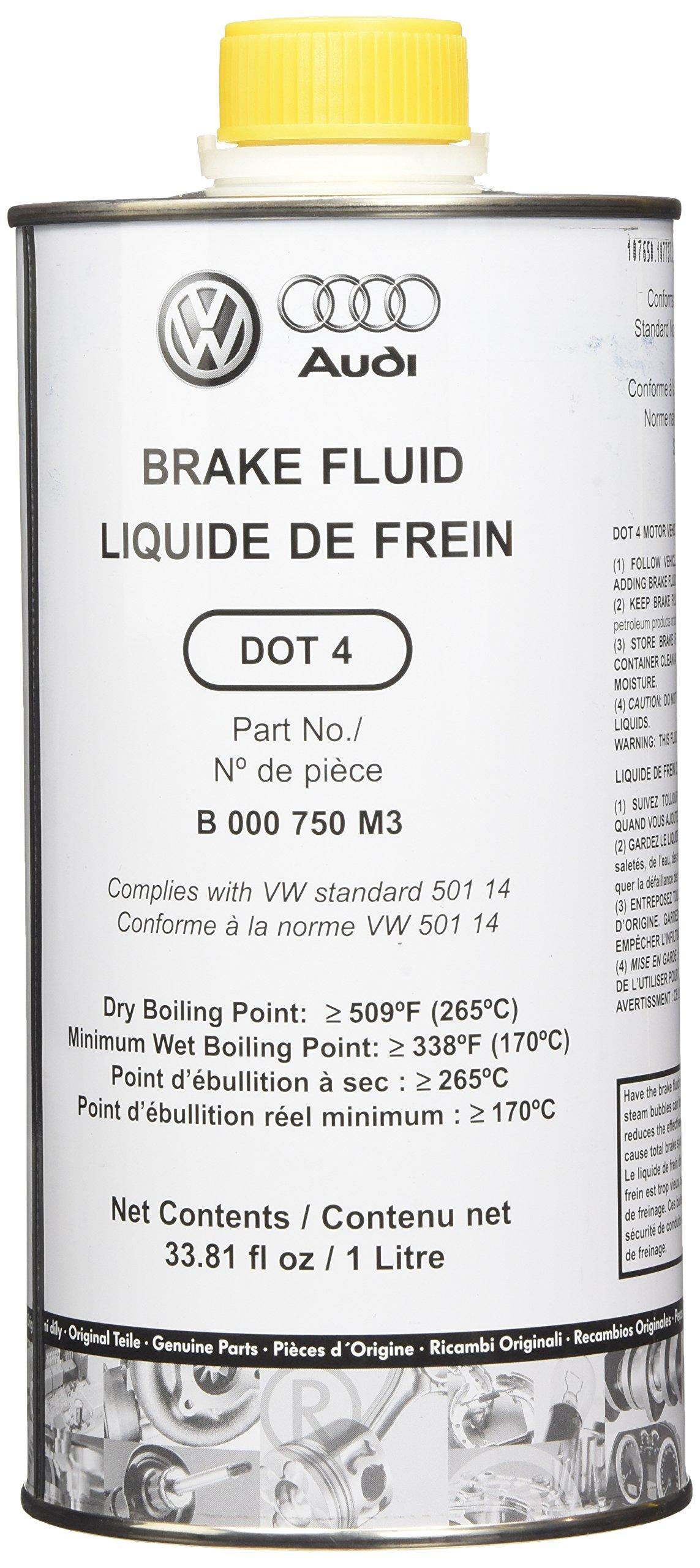 Audi Genuine (B000750M3) Brake Fluid