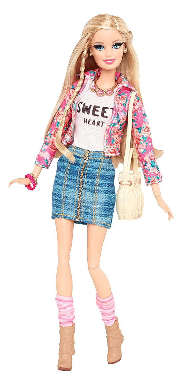 Mattel Barbie CBD28 - Deluxe Moden Fashionista Barbie, Puppe