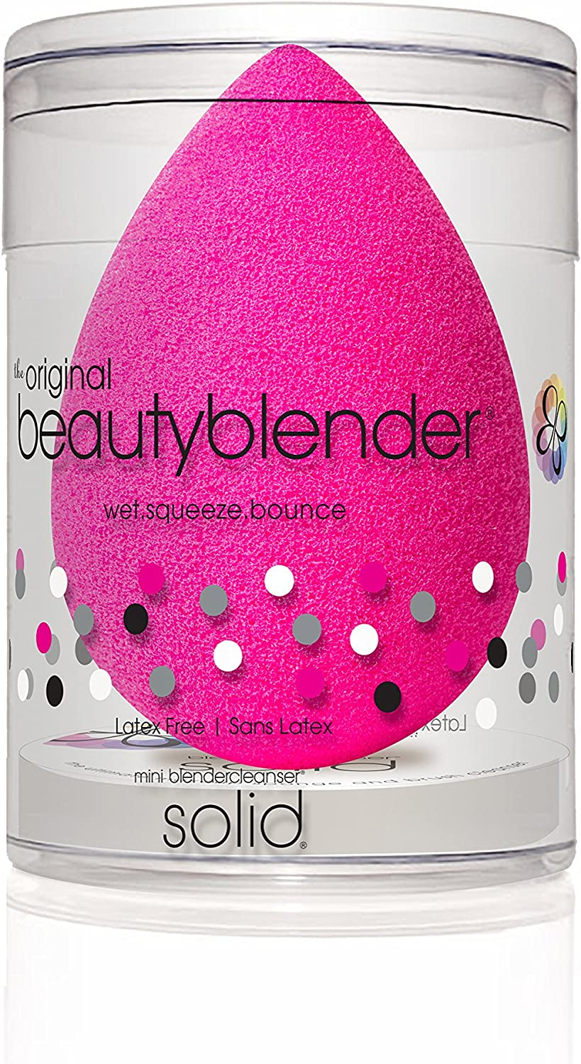 Beautyblender Original Blender Sponge with Mini blendercleanser Solid