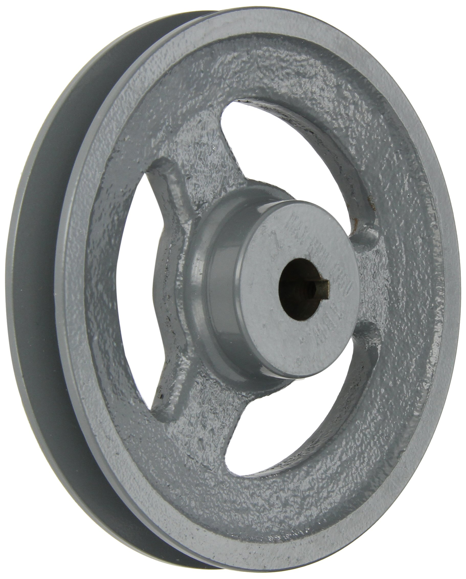 Gates BK60 Light Duty Spoke Sheaves, BK Type, 5.75'' OD, 1 Groove, 5/8'' Bore