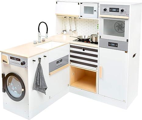 11464 Cocina Infantil Modular XL, Small Foot, de Madera ...