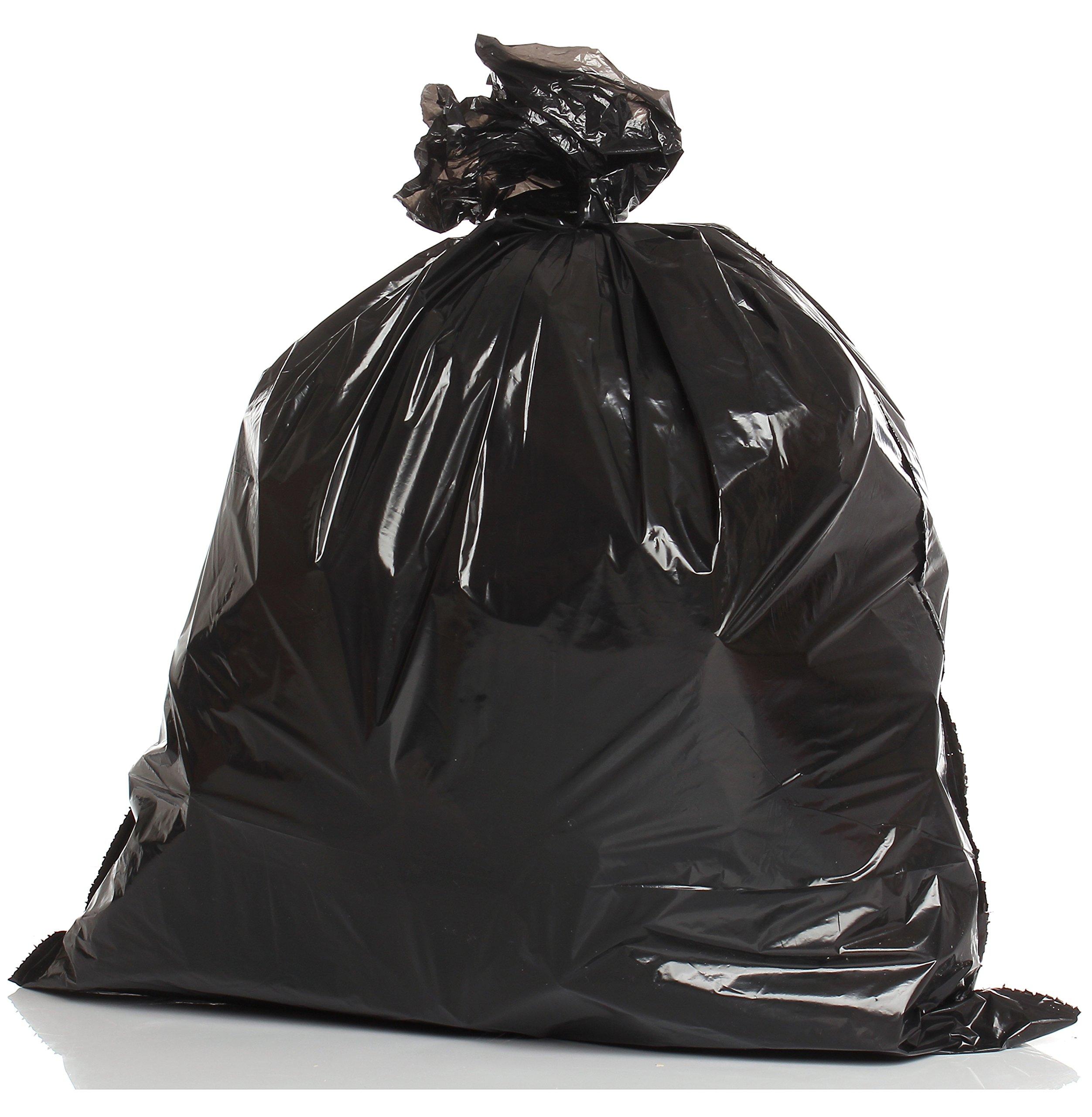 Muscle Bag - Individually Folded 55 Gallon Heavy Duty Trash Bags - 50 per case