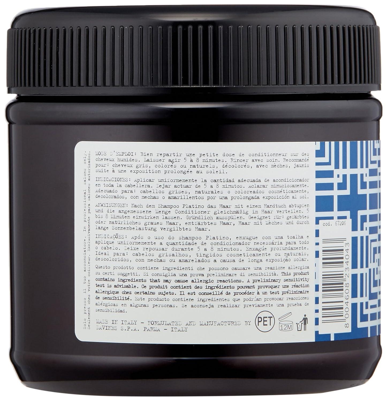 Amazon.com: Davines Alchemic Conditioner, Silver, 8.45 Fl Oz ...