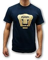 Pumas UNAM Mens Gold Logo T-Shirt