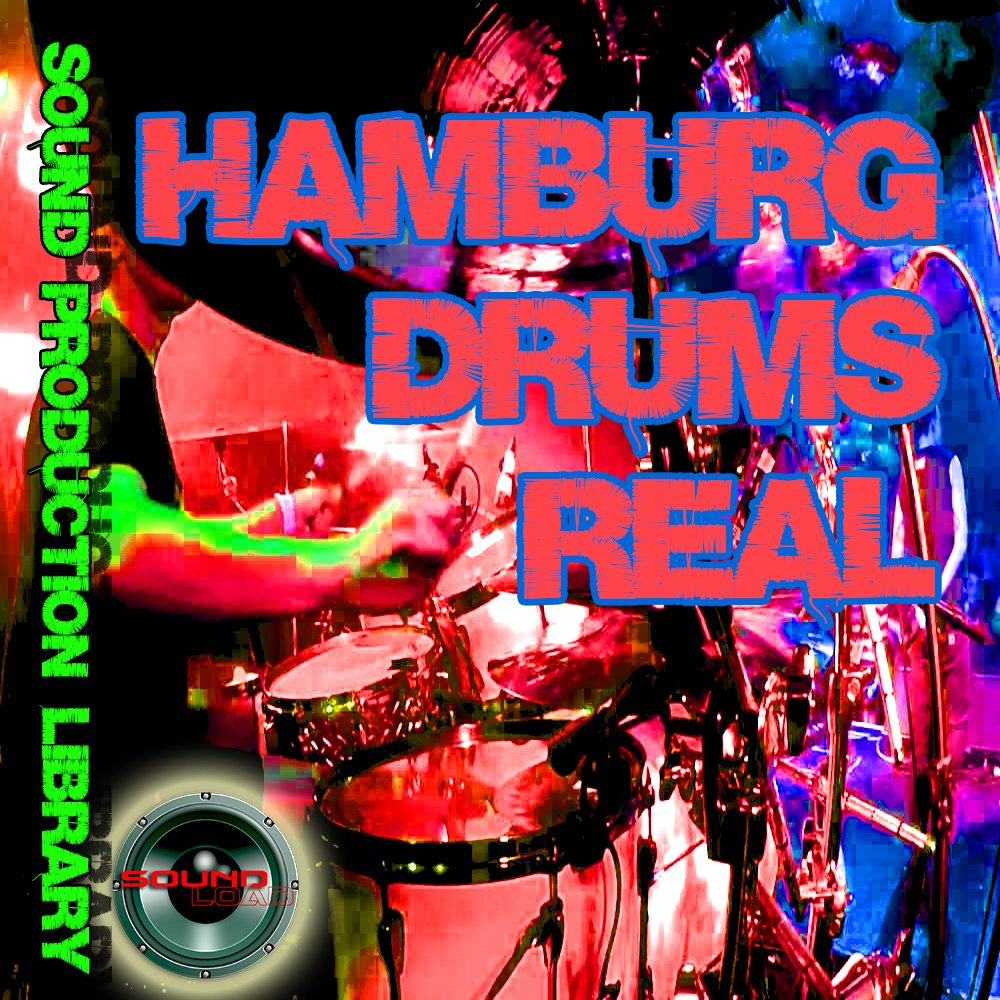 HAMBURG DRUMS Real - Unique Original 24bit Multi-Layer Samples/Loops Library on DVD or for download by SoundLoad (Image #1)