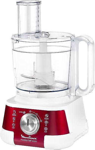 Moulinex Masterchef 5000 - Robot de Cocina con 8 Accesorios: Amazon.es: Hogar
