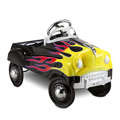 InStep Kids Toy Pedal Car, Toddler Push and Ride On Toy, Street Rod: Toys & Games
