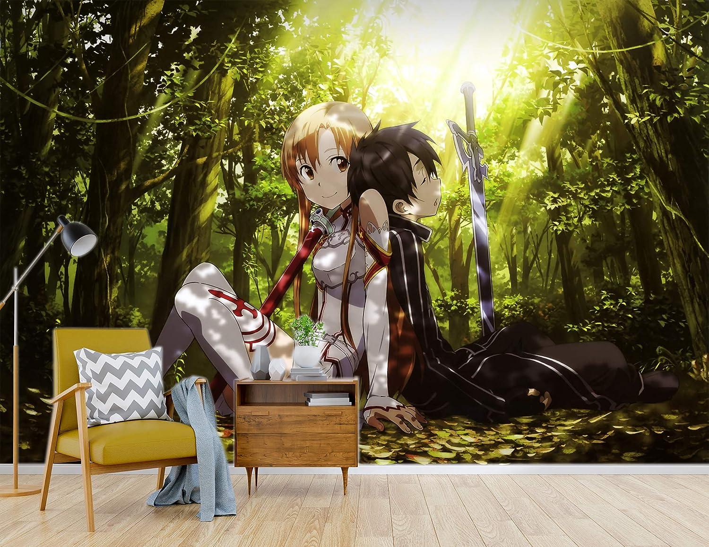 Details about  /3D Sword Art Online N490 Japan Anime Wall Stickers Vinyl Wall Murals Amy