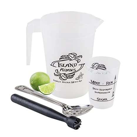 amazon com perfect pitcher mojito kit tools and recipe for a