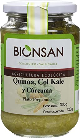 Bionsan Quinoa, Col Kale y Cúrcuma Ecológica - 6 Botes de 220 gr ...