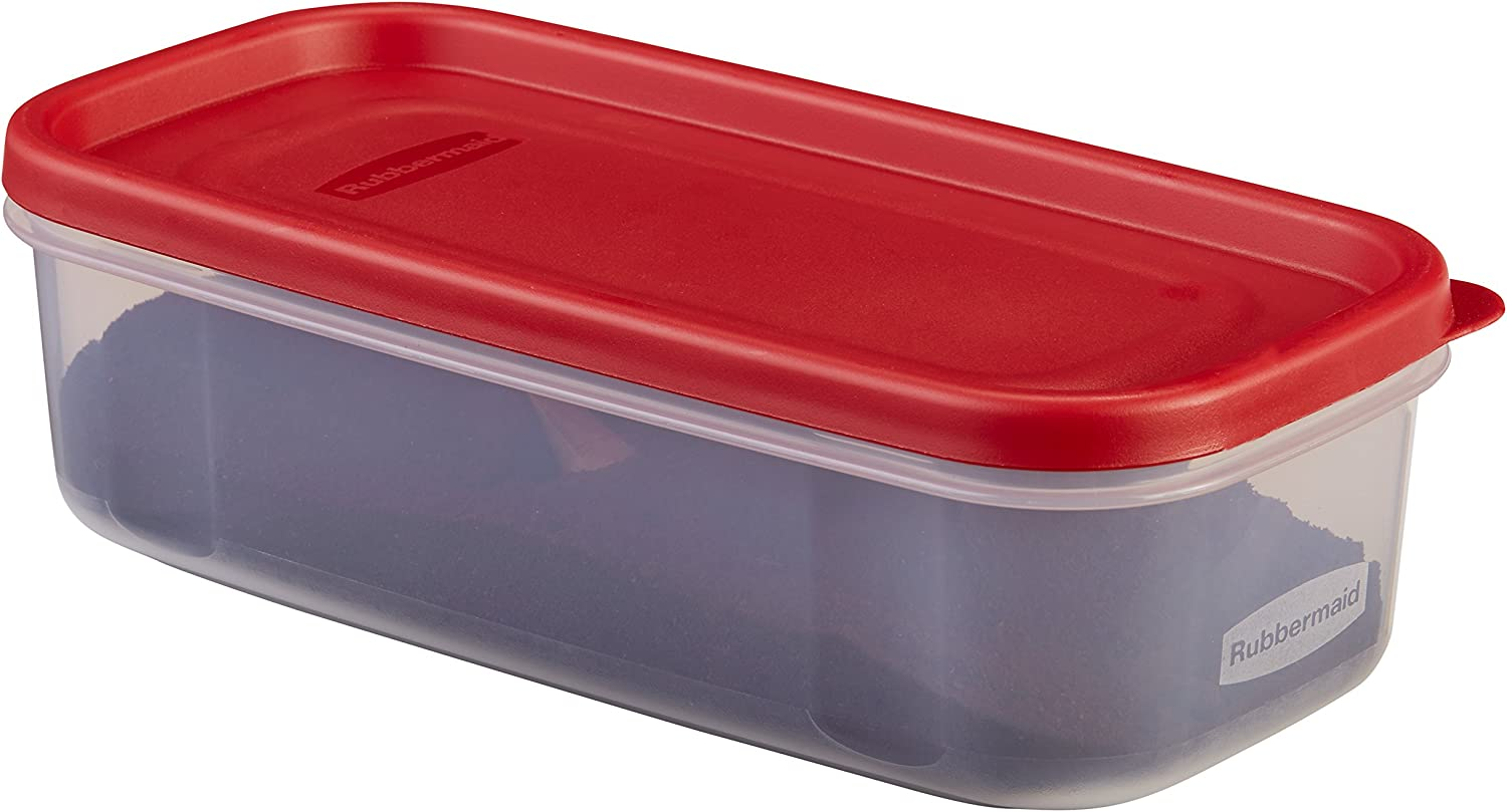 Rubbermaid 5-Cup 5C Dry Food Container, clear
