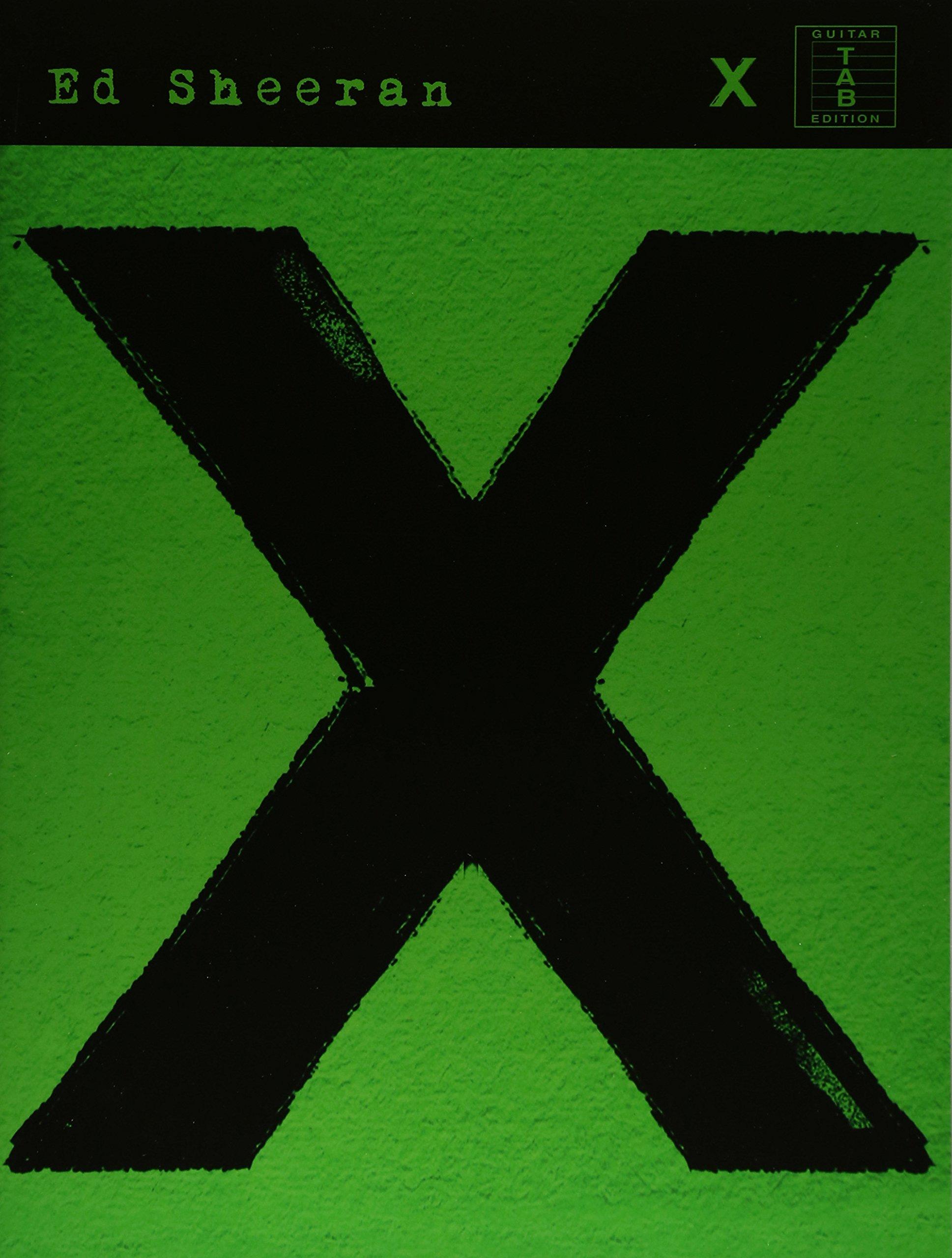 amazon ed sheeran x tab guitar tab ed sheeran opera