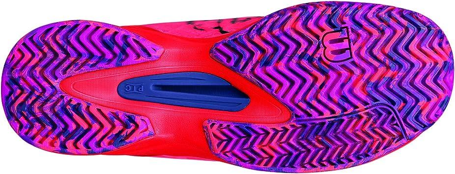 Wilson WRS322510E065, Zapatillas de Tenis para Mujer, Naranja ...