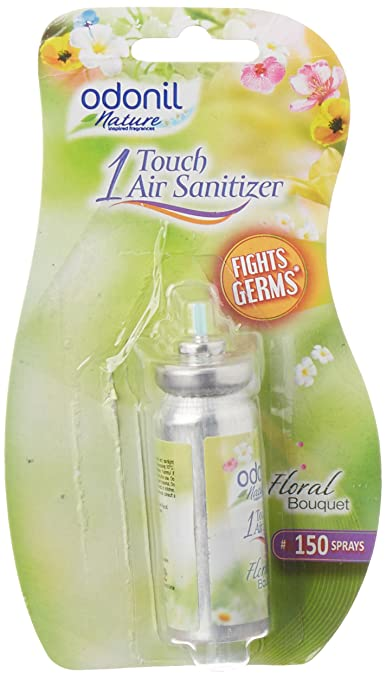 Odonil One Touch Air Purifier Freshener - Floral Bouquet 7.8g