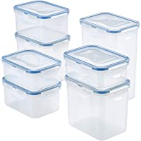 Lock & Lock Water Tight Food Containers, 14-Piece Set
