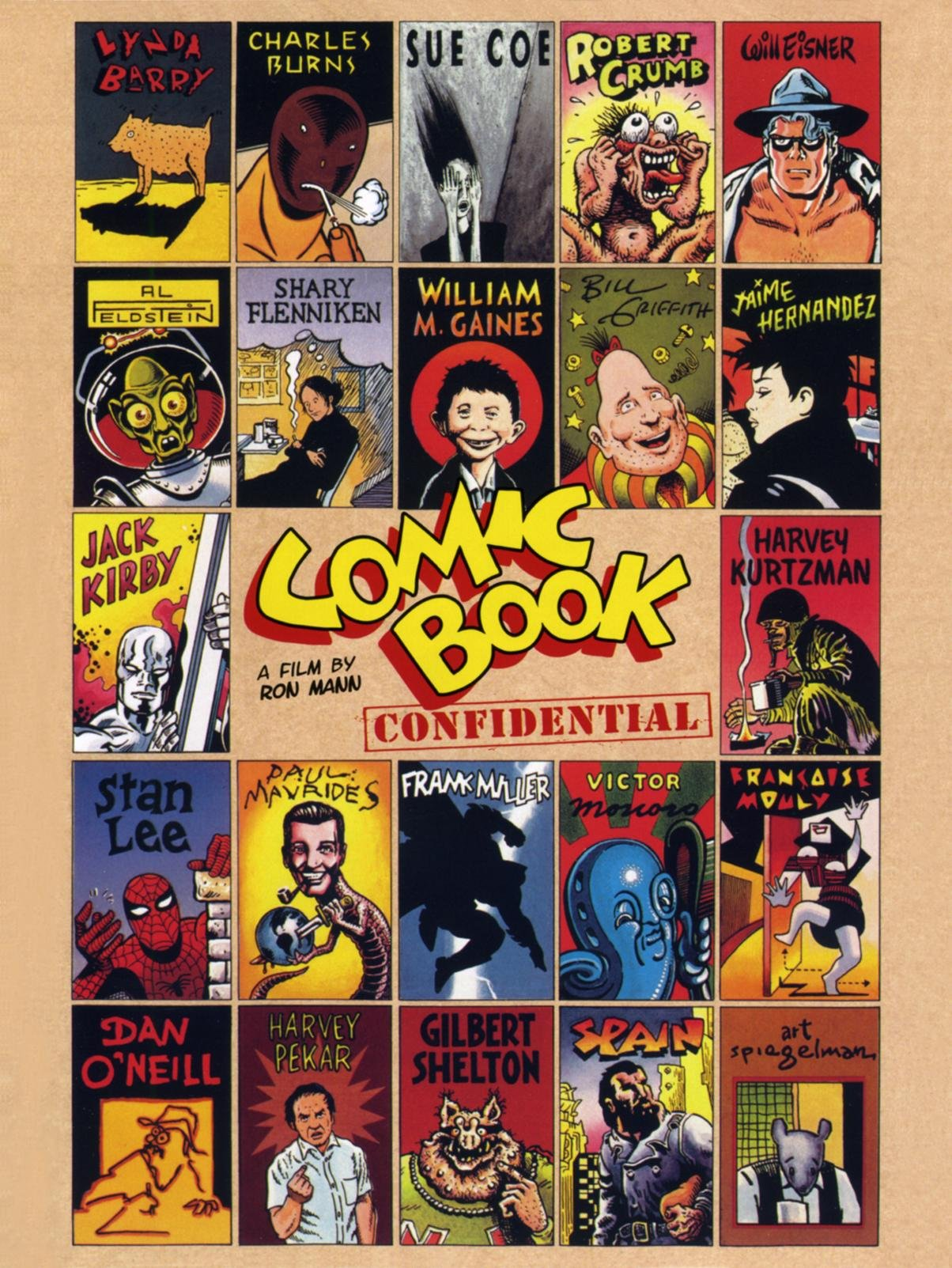 ic book confidential lynda barry robert crumb