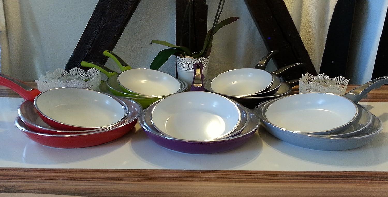 novabest keramik pfannen 3er set
