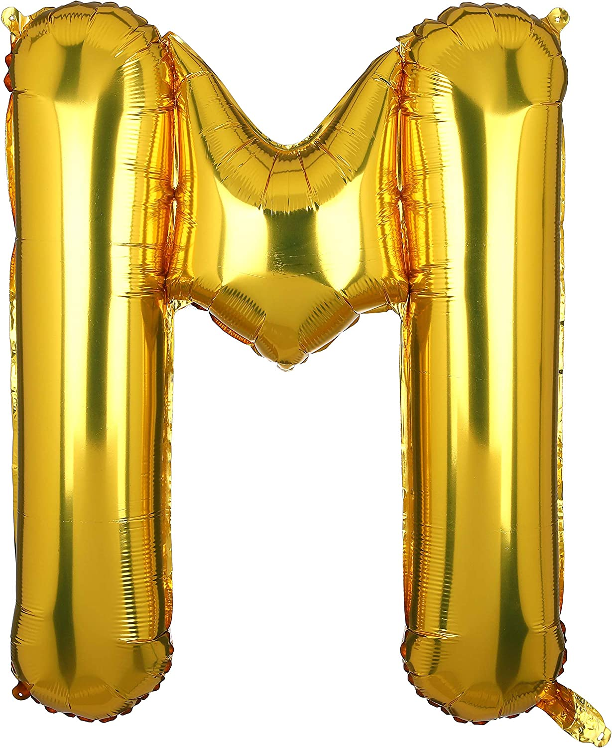 40 Inch Large Gold Letter M Foil Helium Balloons Big Mylar Balloon Birthday Party Decoration Supply Gold M