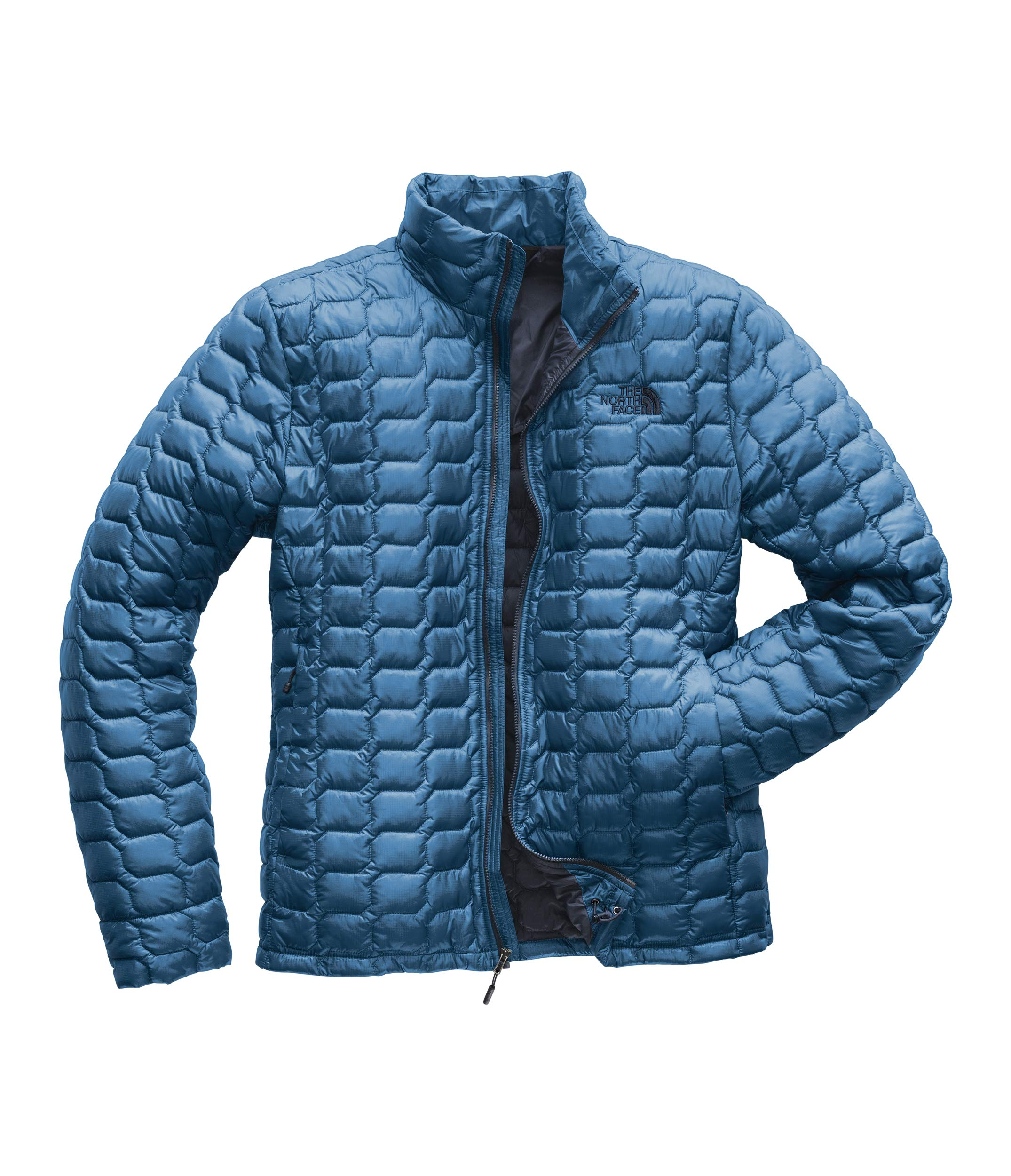 The North Face Men's Thermoball Jacket, Heron Blue, X-Small