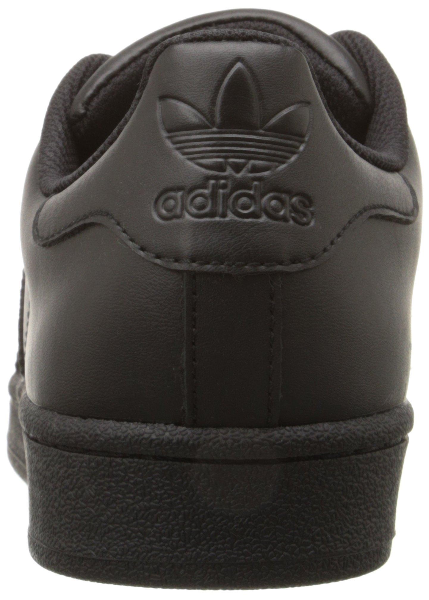 Adidas Superstar Foundation Black Mens Trainers - AF5666 - Size 9 UK