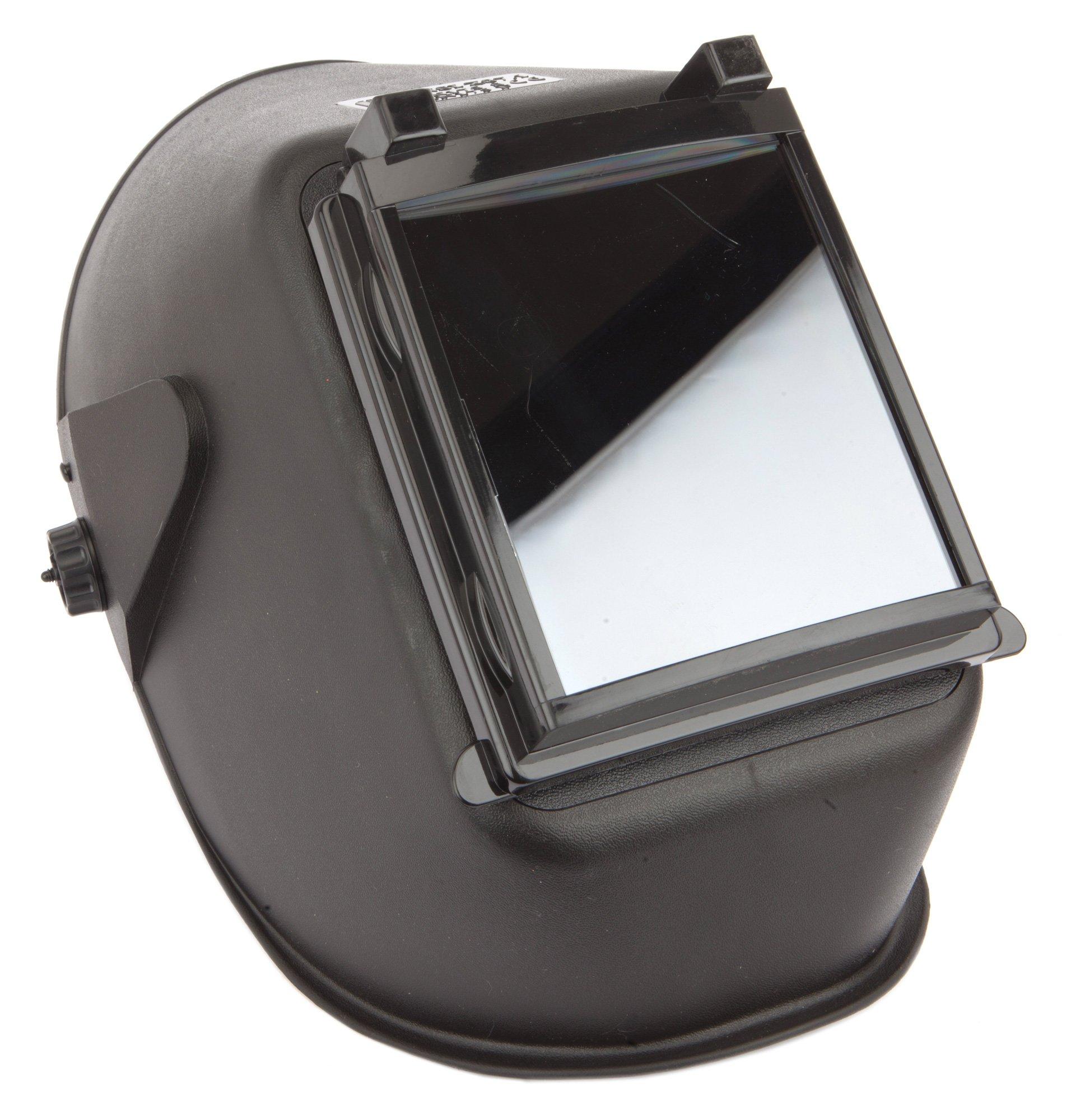 Forney 55672 Welding Helmet, Bandit III Flip Front, Shade-10