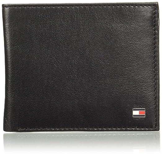 Tommy Hilfiger Black Leather Men's Wallet  8903496150346
