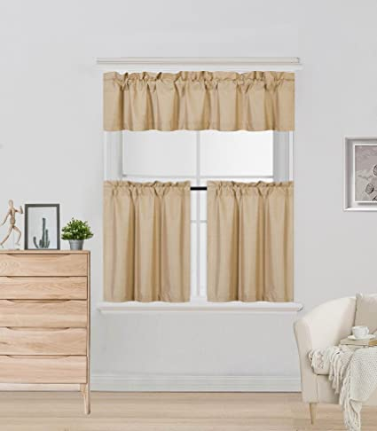 short window treatments radiator gorgeoushomelinen 3pc solid set for small short windows rod pocket lined blackout curtain k4 in assorted amazoncom