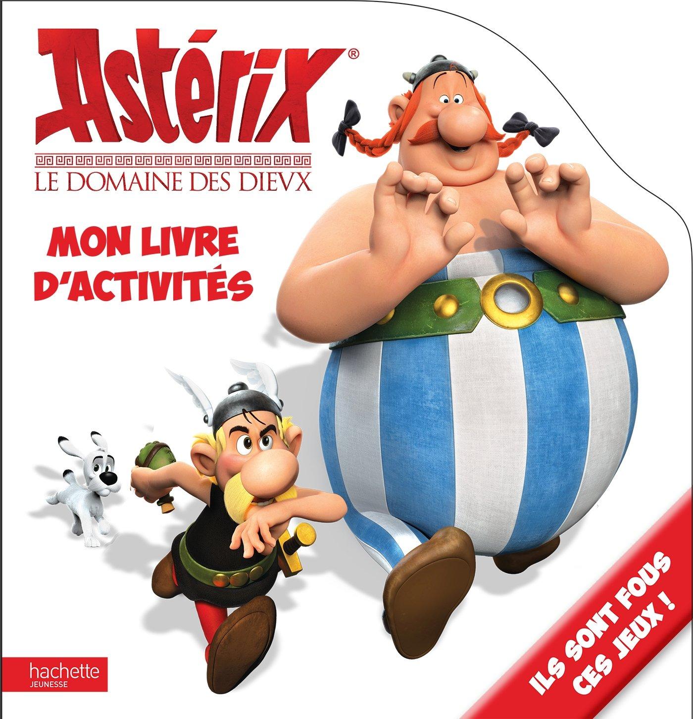 Asterix Le Domaine Des Dieux Mon Livre D Activites French
