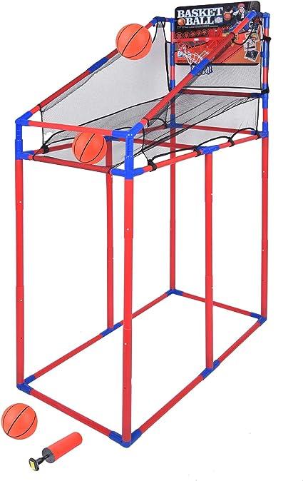 Amazon.com: Juego de aros de baloncesto Portzon, juego de ...