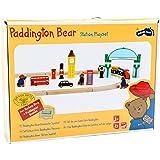 Small Foot 5998 Paddington Bear railway play set London, 43-part set