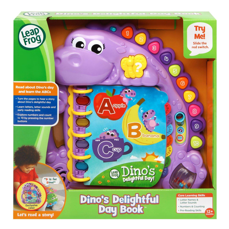 LeapFrog Dino's Delightful Day Alphabet Book, Purple (Amazon Exclusive) by LeapFrog (Image #6)