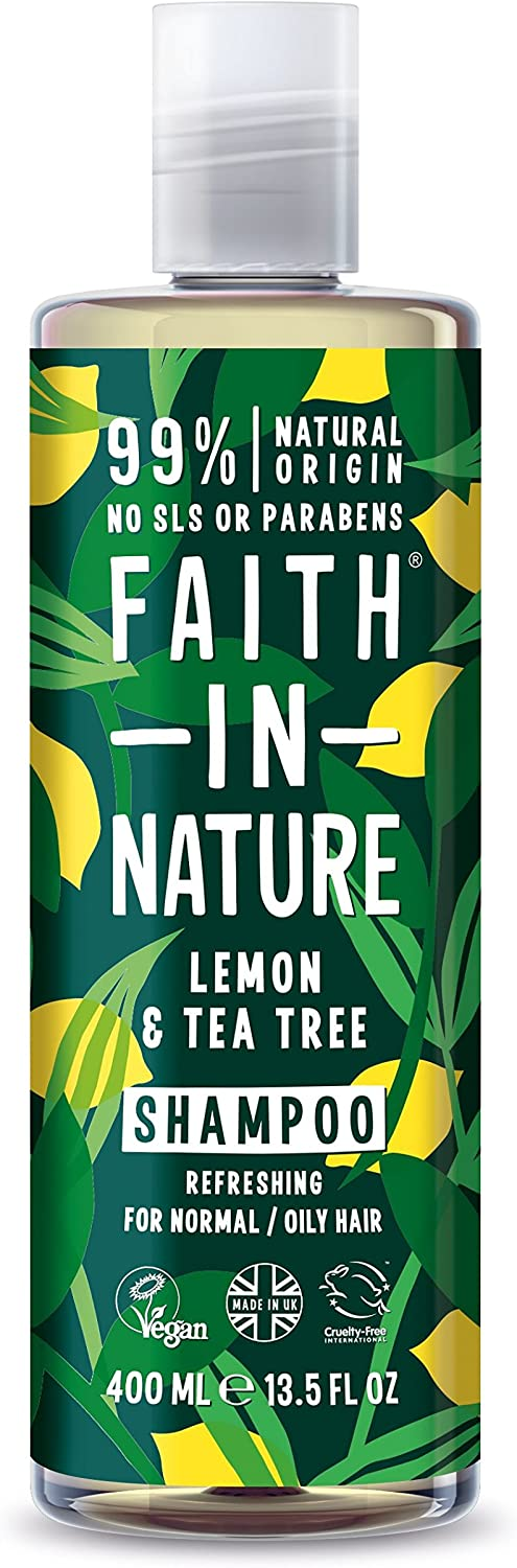 Faith In Nature Anti-Dandruff Lemon & Tea Tree Shampoo 400ml
