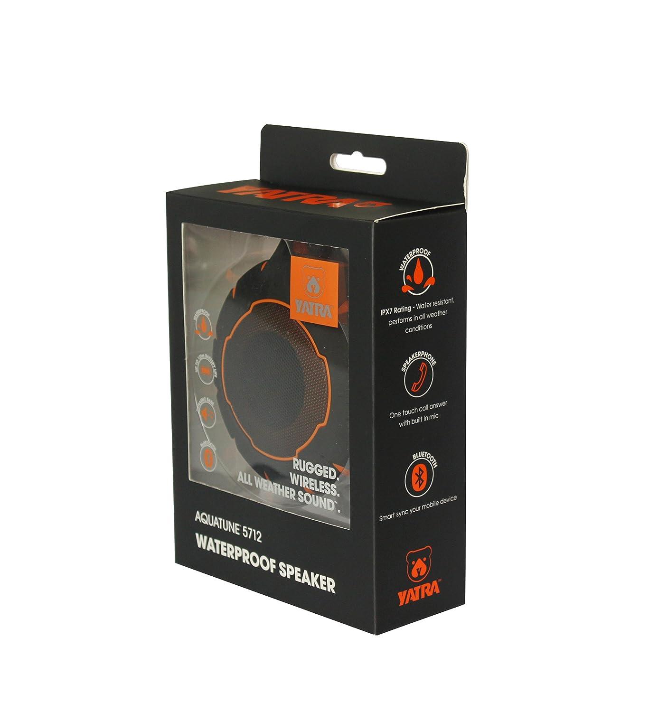 HD Waterproof Speaker Aquatune Wireless Shower Yatra 5712 Bluetooth Wet Audio