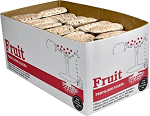 Jobe's 02612 Fruit & Citrus Bulk Fertilizer Spikes, 160, natrual